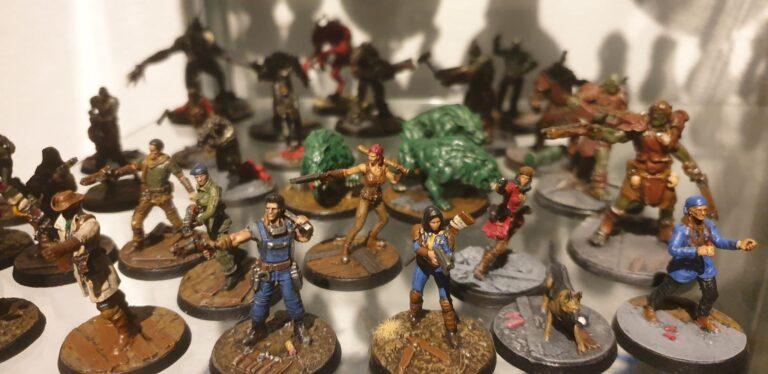 Poldervlog #2: Fallout Miniature Board Game – demo & recensie